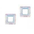 Cristal square 14mm crystal AB